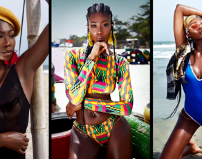 #HOTSHOTS: Ghanaian Beauty Benedicta Stuns Tremendously In Haute Beach Editorial By Sharon O Photography