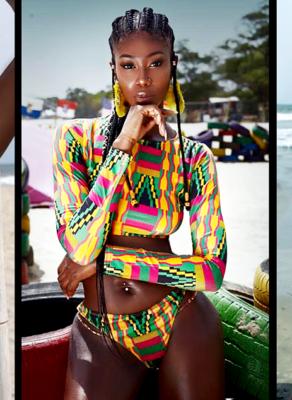 #HOTSHOTS: Ghanaian Beauty Benedicta Stuns Tremendously In Haute Beach Editorial By Sharon O Photography