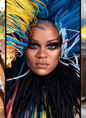 Givenchy Mimicks Style From African (Benin & Togo) Zengbeto Dancers As Featured On Rihanna