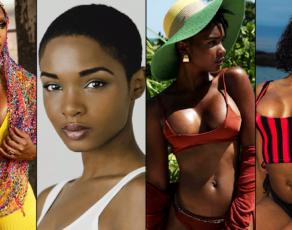#BIKINIBAE: Stunning @ChantailleElise & Her Golden Brown Physique Slays In Both African Fashion & Swimwear; See Pics