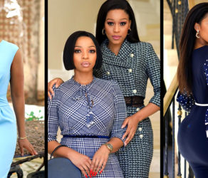 South African Beauties Buhle Samuels and Lerato Seuoe Stun In Fabulous Office & Smart Casuals By BellaCozi SA