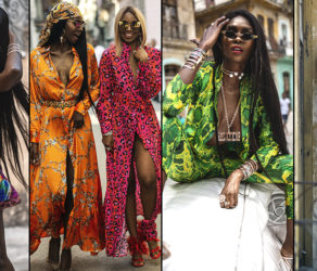 Sierra Leone's Sai Sankoh's 2019 Campaign Images For Her 'HAVANA' Collection Is Every Degree Of Awesome