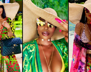 You Will Wish You Were In Jamaica After Seeing Sierra Leone Designer Sai Sankoh Rocking Her Kaftans There