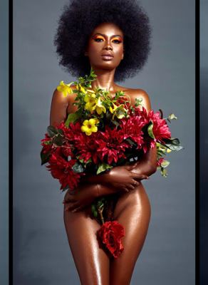 #HOTSHOTS: The Beauty Of Flowers, Enjoy This Fabulous Artistic Editorial By Ghana's Sharon O Photography