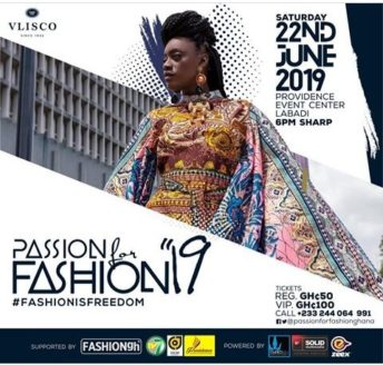 Ghana: Passion For Fashion 2019 @ Providence Events Centre