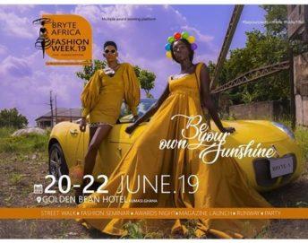 Ghana: Bryte Africa Fashion Week 2019 @ Golden Bean Hotel