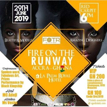 Ghana: Fire on the Run Way @ La Palm Royal Beach Hotel