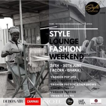 Ghana: Style Lounge Fashion Week @ La Villa Boutique Hotel