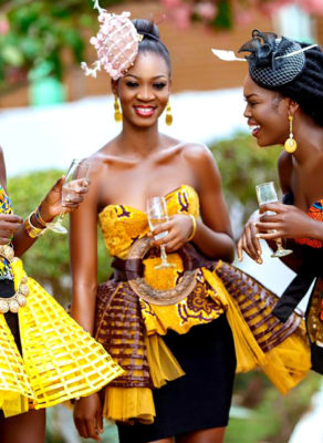 VIDEO: Claturally Amazing Mesh Waist Wraps Are The New Wave Of African Fashion And It Is Not For The Faint Pockets