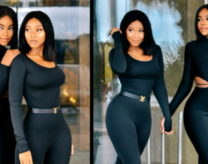 #HOTSHOTS: These Two South African Based Beauties Just Lit The Internet Of Fire With Their 'All Black' Look