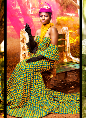 #HOTSHOT: Priscilla Stuns In Fabulous Jamartash Dress In Fashion Editorial By TwinzDntBeg