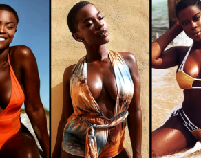 #BIKINIBAE: From Being Skinny, Eating Disorders & Running Miles, To Saying Fack It! Haitian Beauty Saje Pure Swimwear Glamour