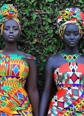 #HOTSHOTS: Find Out Why These Stunning Images Of Two Dark Skinned Ugandan Women Is Dominating The Internet