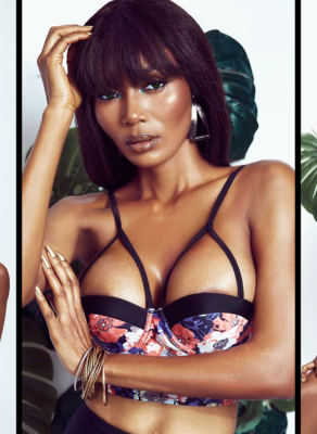 #HOTSHOTS: Gh Model Doris Stuns Is Everything Fire In Fabulous Swimwear Editorial By Sharon O