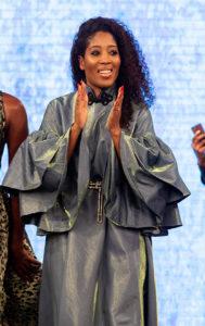Watch Angola's Leading Designer Soraya Da Piedade Closes Her Show With Songstress Eazzy At NIVEA Accra Fashion Week