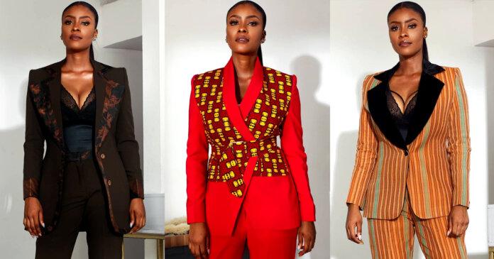 Nigerian Fashion Brand Bubu Blaq Drops Haute African Print Suits That Will  Excite All Stylish Female Entrepreneurs - FashionGHANA.com: 100% African  Fashion