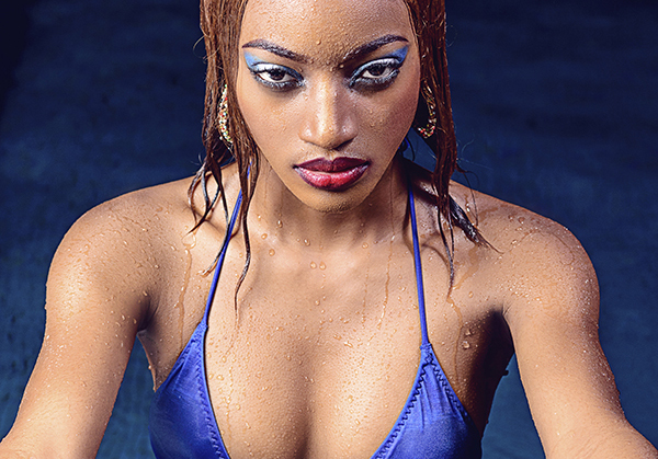 Hot Shots: #SwimwearSunday In Blue With Cameroonian #BikiniBae Corinne Engando