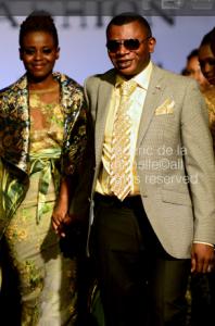 UK based Designer Adebayo @ Congo Fashion Week
