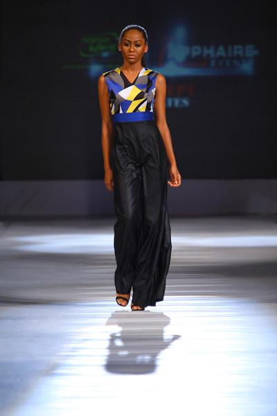 Diana A La Vid lagos fashion and design week 2013 fashionghana (2)