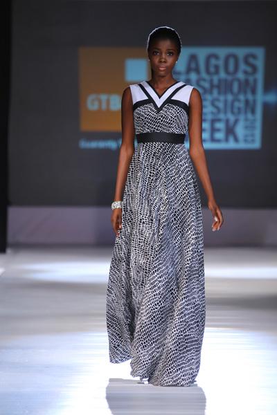 Diana A La Vid lagos fashion and design week 2013 fashionghana (6)