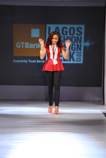 Diana A La Vid lagos fashion and design week 2013 fashionghana (7)