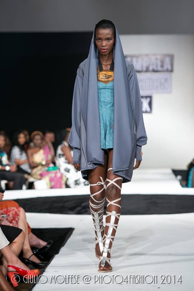 Gloria Wavamunno Kampala Fashion Week 2014 Uganda Kfw2014 Fashionghana Com 100 African Fashion