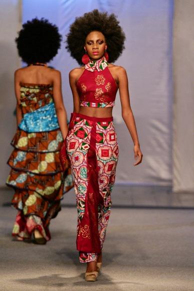 Malleni Peace Kinshasa Fashion Week 2013 Fashionghana