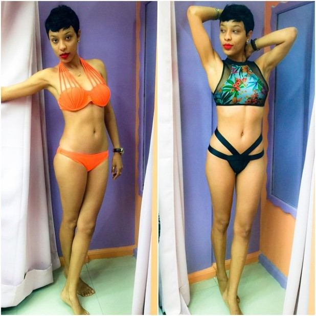 Ghanaian Presenter & #BikiniBae Nikki Samonas On a Bikini Shopping Spree & Generously Shares With Public