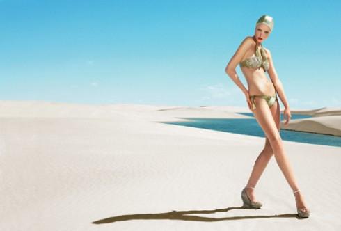 Caroline Trentini Stars in the Rosa Chá Spring/Summer 2007 Ad Campaign