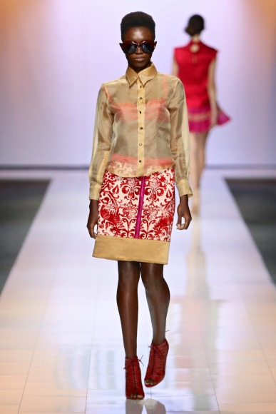 Stefania Morland  Mercedes Benz Fashion Week joburg 2015 african fashion fashionghana (6)