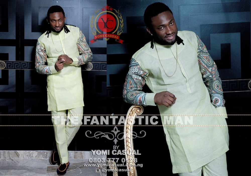 Nigerian Fashion Lable Yomi Casual Presents It S Fantastic Man Collection Fashionghana Com 100 African Fashion