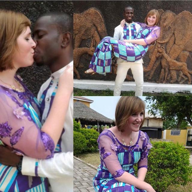 Ghanaian Weddings The Kente Prints Trend That Make Them