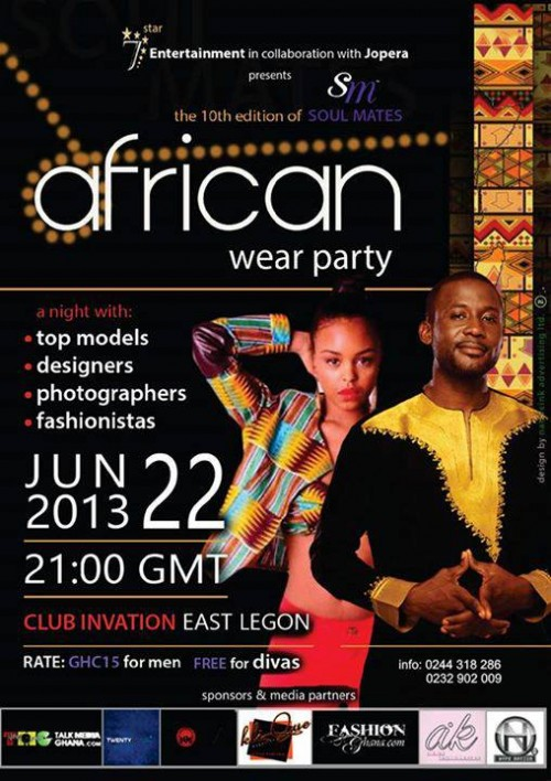 african fashion party