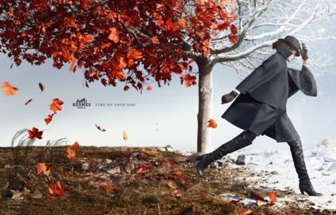 Hermes Autumn/Winter Ad Campaign 2012/13 By Nathaniel Goldberg