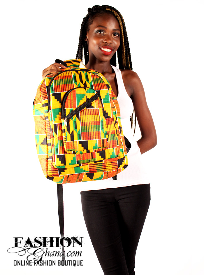 Kente African Print Backpacks Fashionghana Com 100